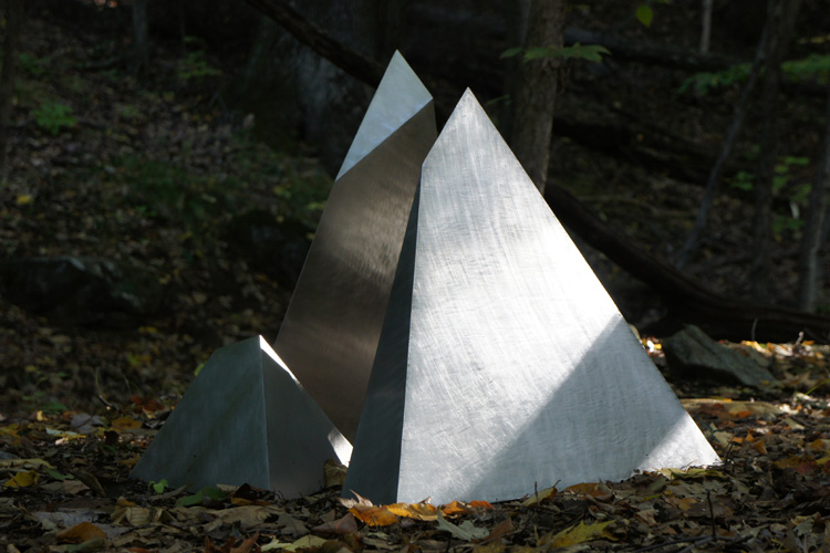 Fractured Tetrahedron